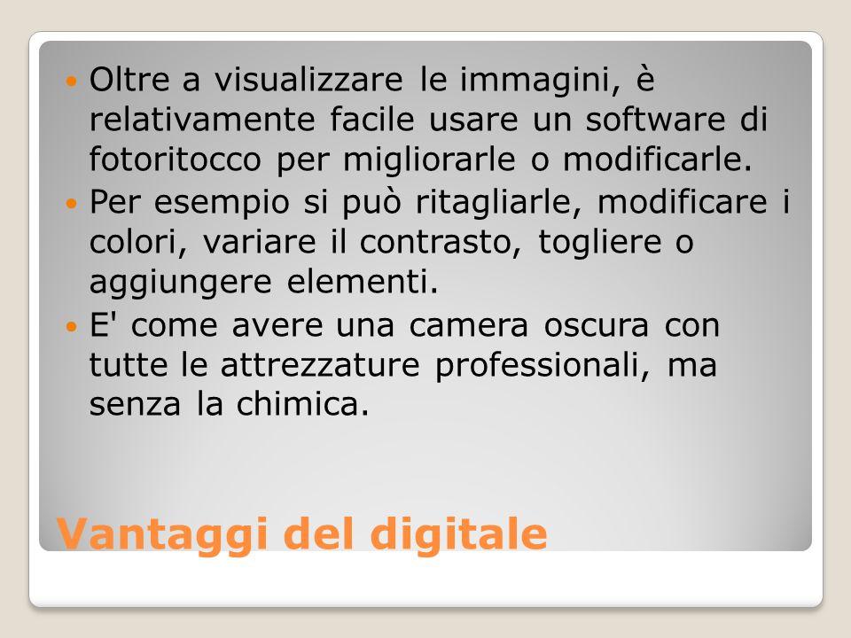Oltre a visualizzare le immagini, è relativamente facile usare un software di fotoritocco per migliorarle o modificarle.