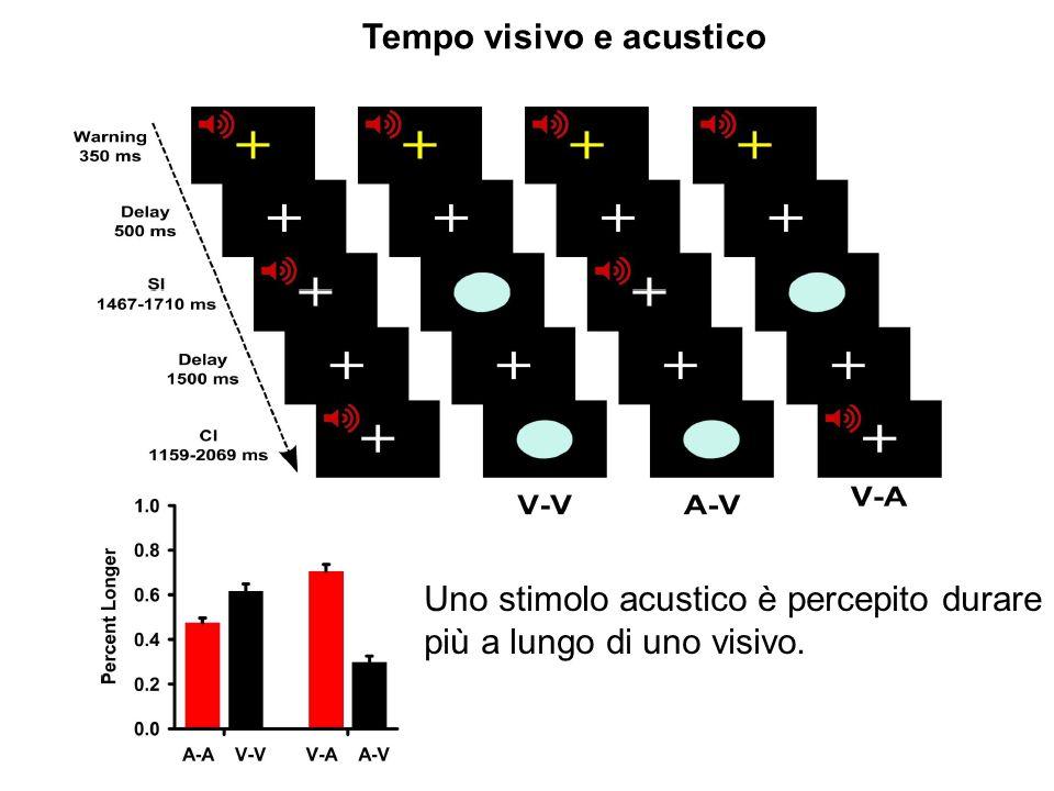 Tempo visivo e acustico