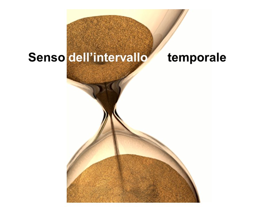 Senso dell'intervallo temporale