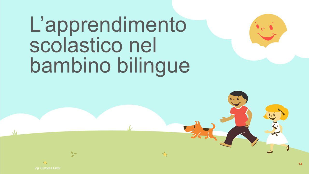 L'apprendimento scolastico nel bambino bilingue
