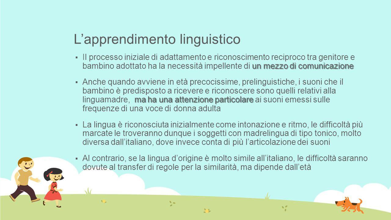 L'apprendimento linguistico