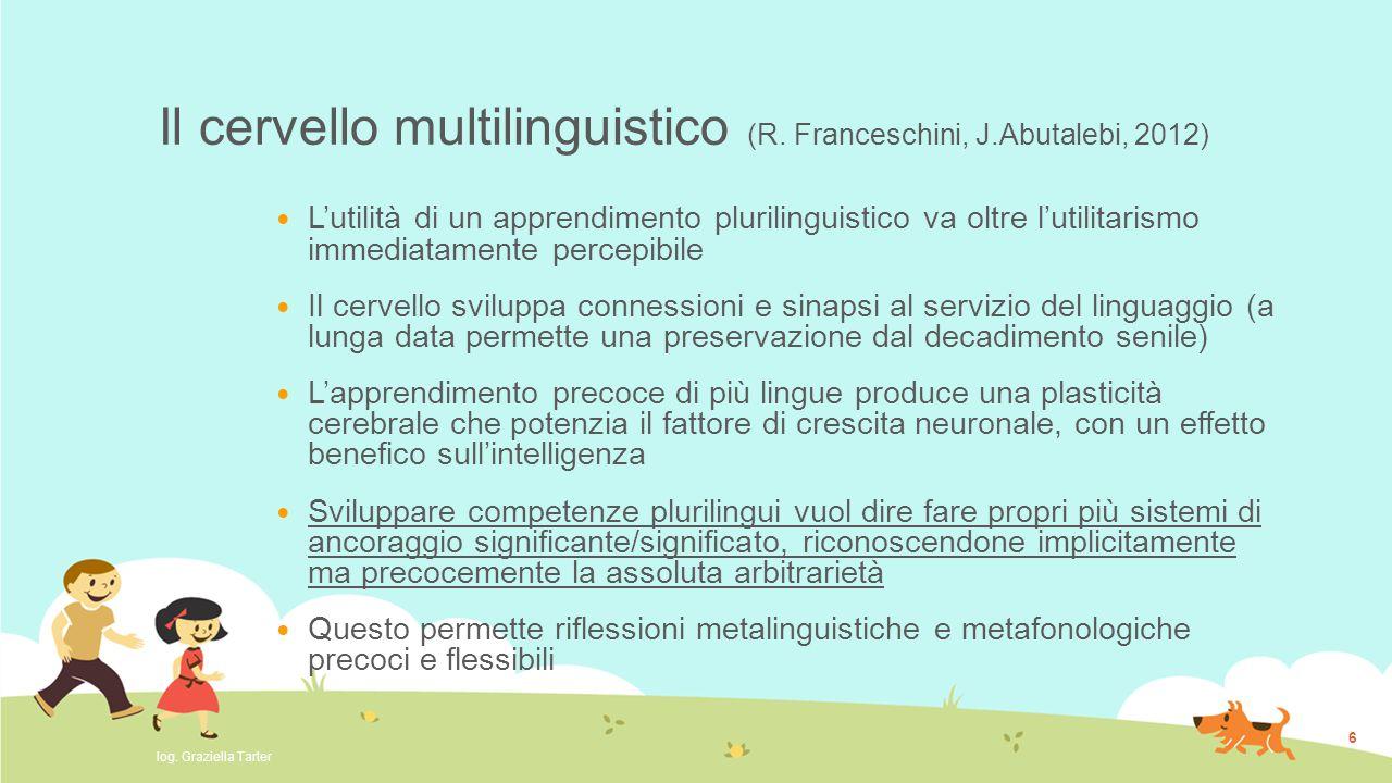 Il cervello multilinguistico (R. Franceschini, J.Abutalebi, 2012)
