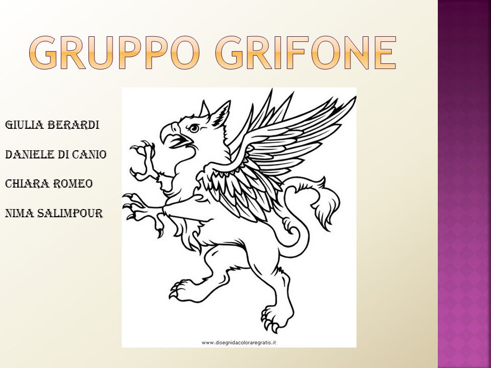 Gruppo grifone Giulia Berardi Daniele Di Canio Chiara Romeo