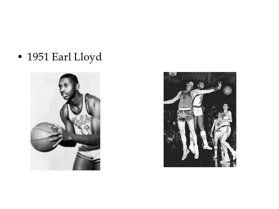 1951 Earl Lloyd
