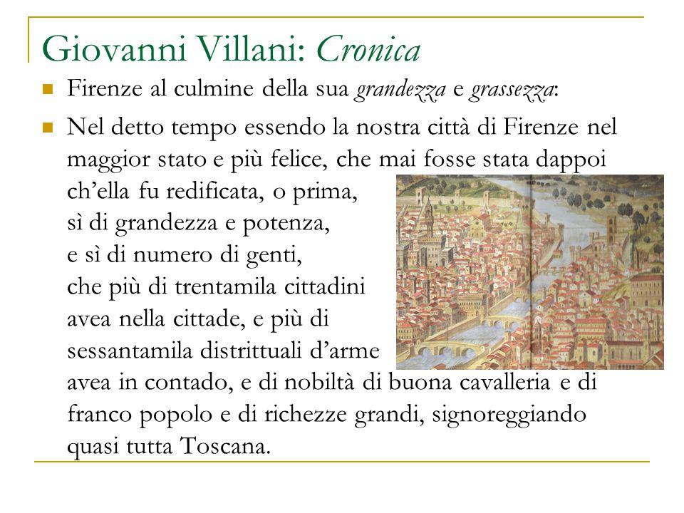 Giovanni Villani: Cronica