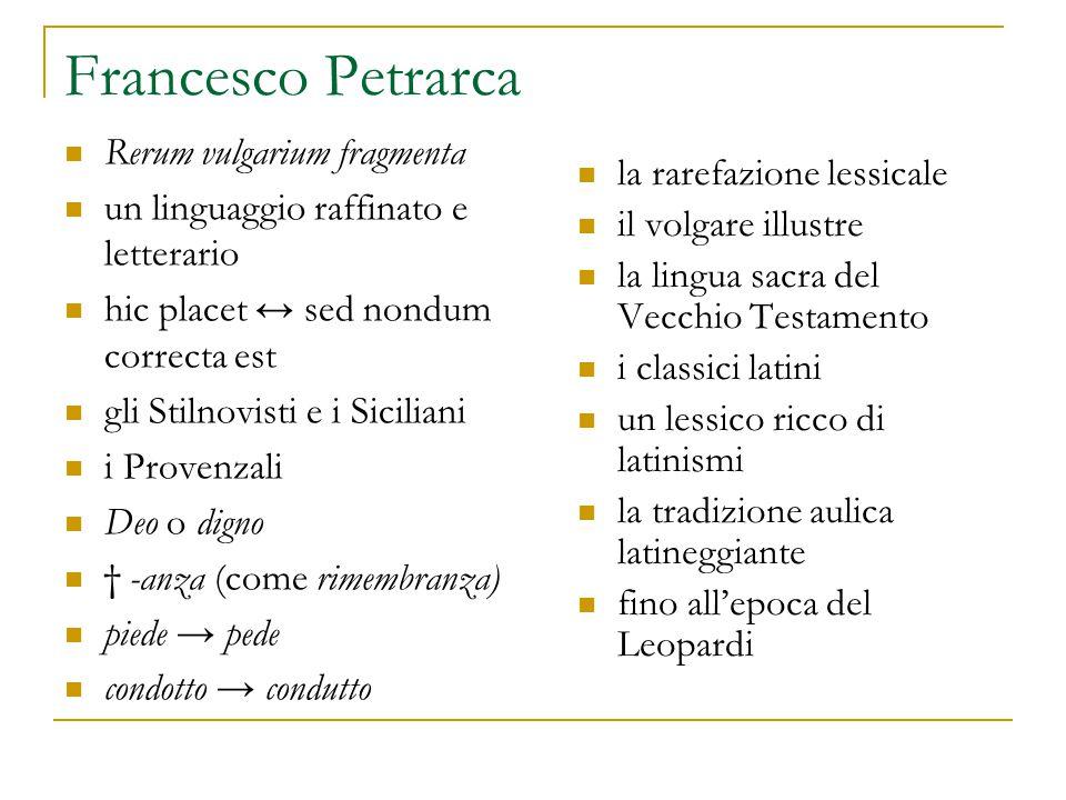 Francesco Petrarca Rerum vulgarium fragmenta