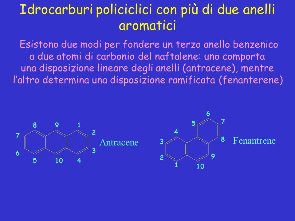 Idrocarburi policiclici con più di due anelli aromatici