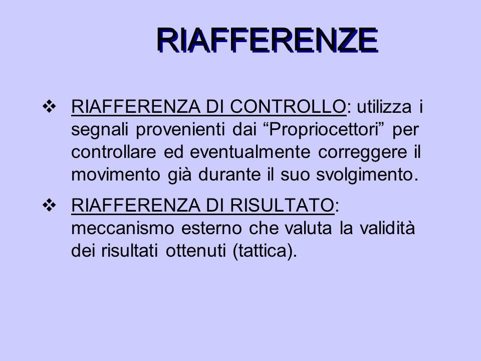 RIAFFERENZE