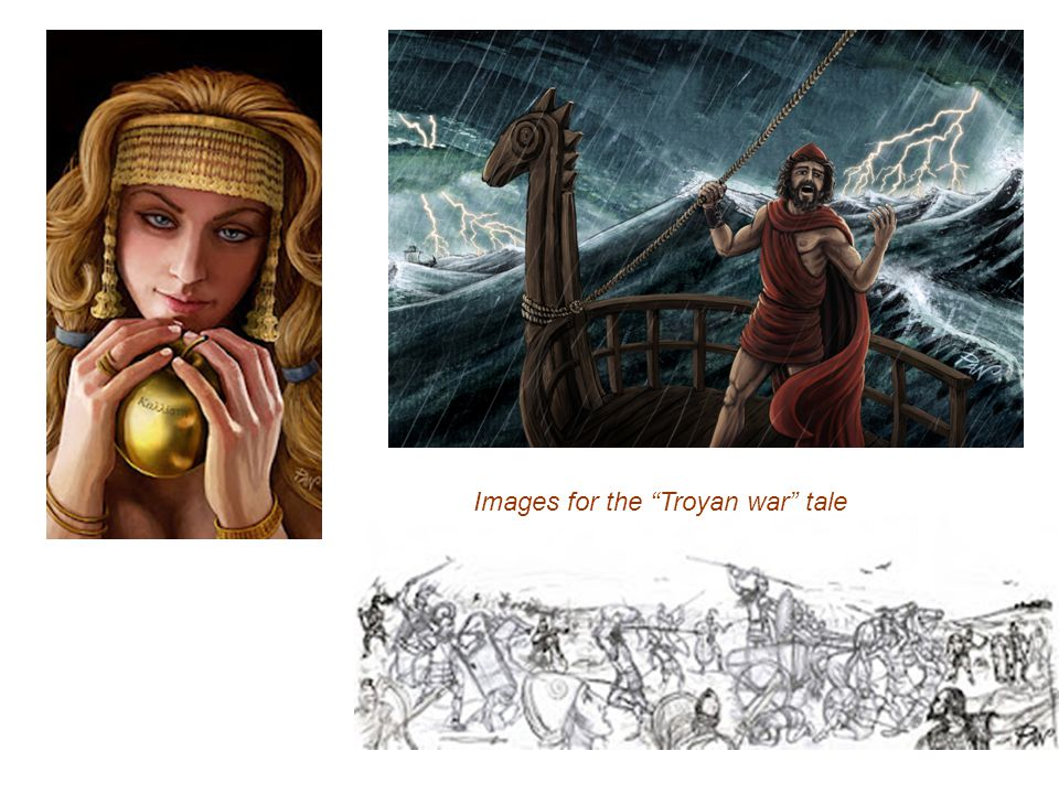 Images for the Troyan war tale