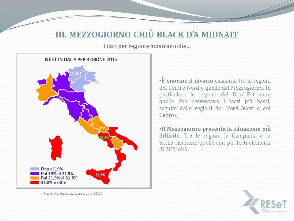 iii. Mezzogiorno CHIù BLACK D'A midnait