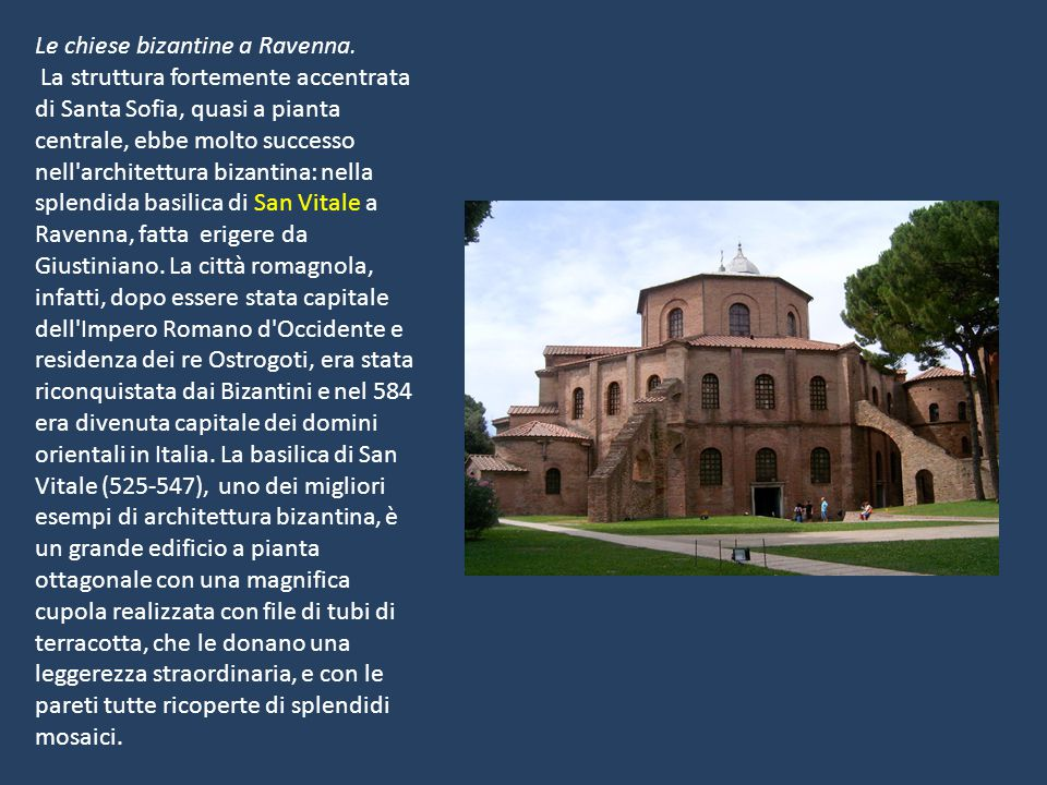 Le chiese bizantine a Ravenna.