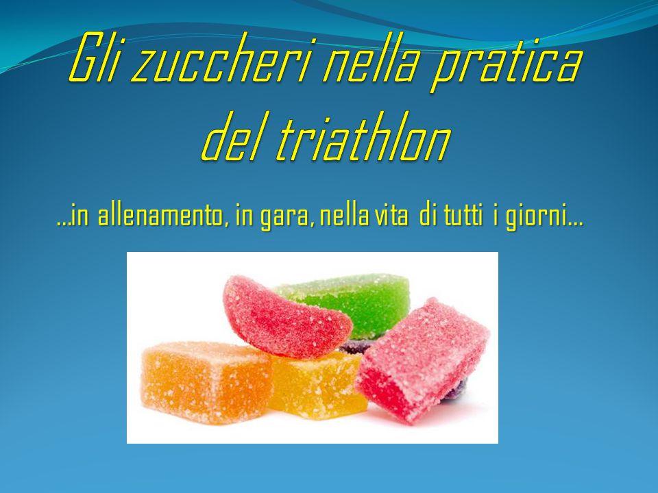 Gli zuccheri nella pratica del triathlon