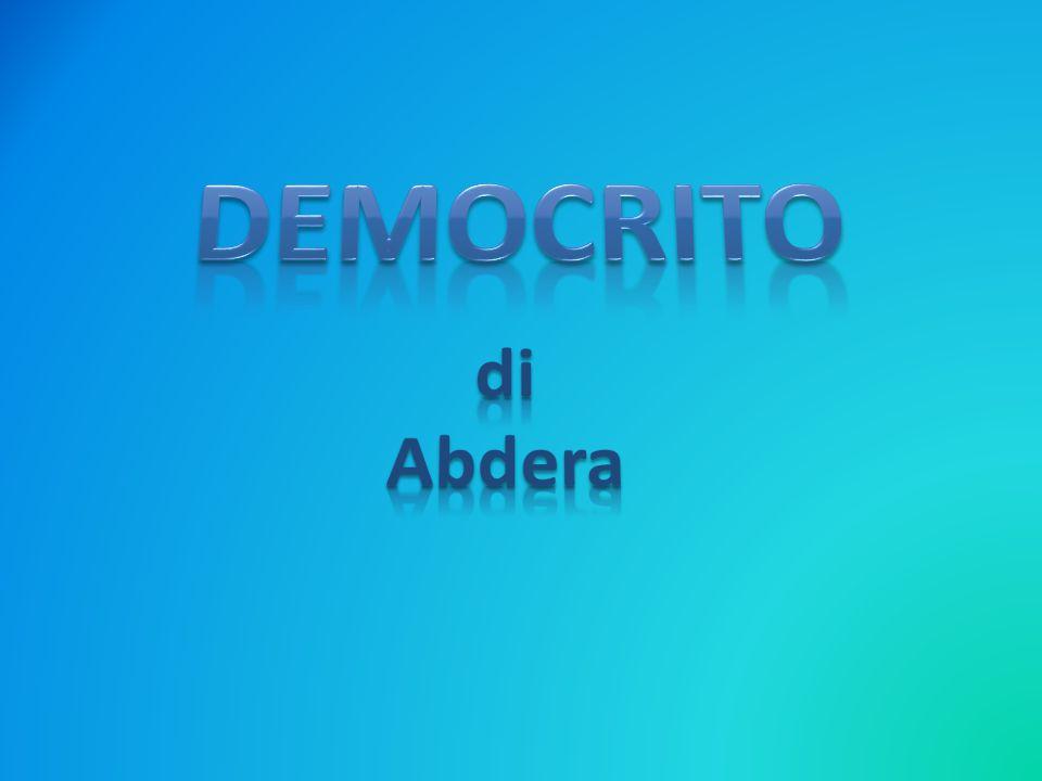 DEMOCRITO di Abdera