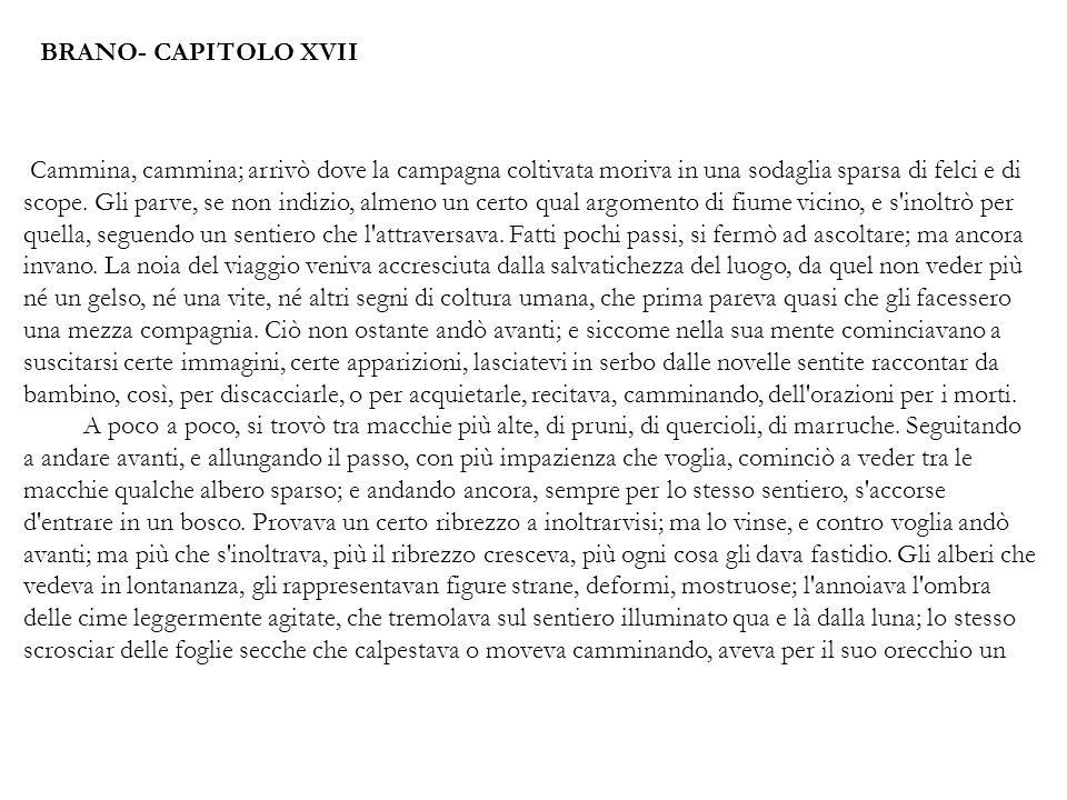 BRANO- CAPITOLO XVII