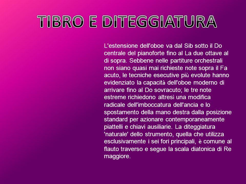 TIBRO E DITEGGIATURA
