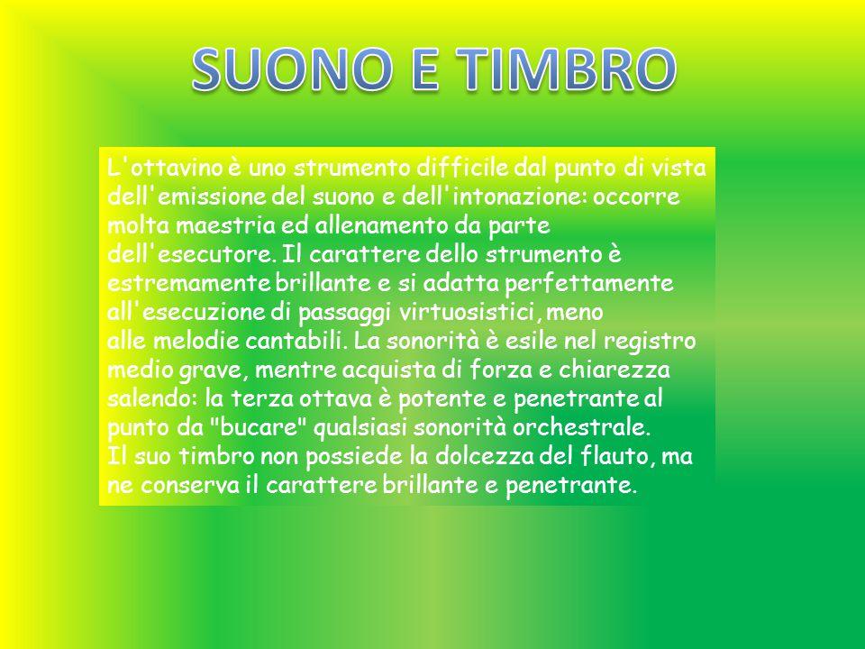 SUONO E TIMBRO