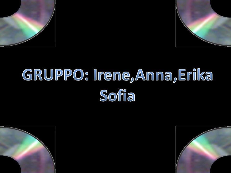 GRUPPO: Irene,Anna,Erika