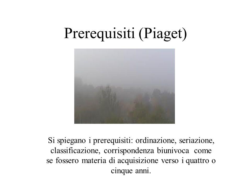 Prerequisiti (Piaget)