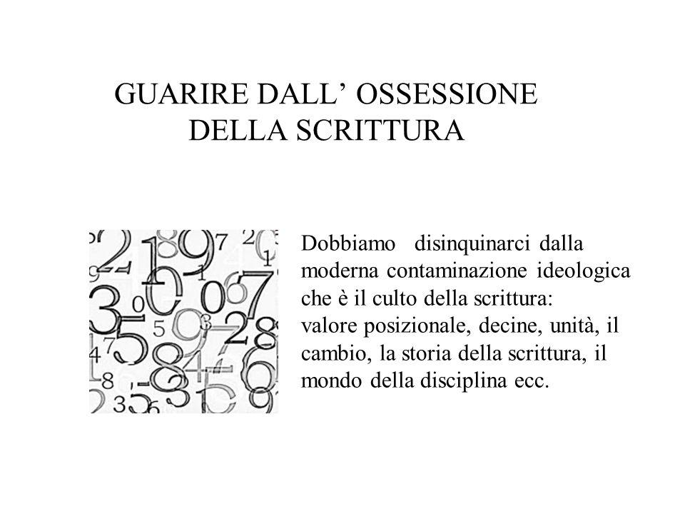 GUARIRE DALL' OSSESSIONE DELLA SCRITTURA