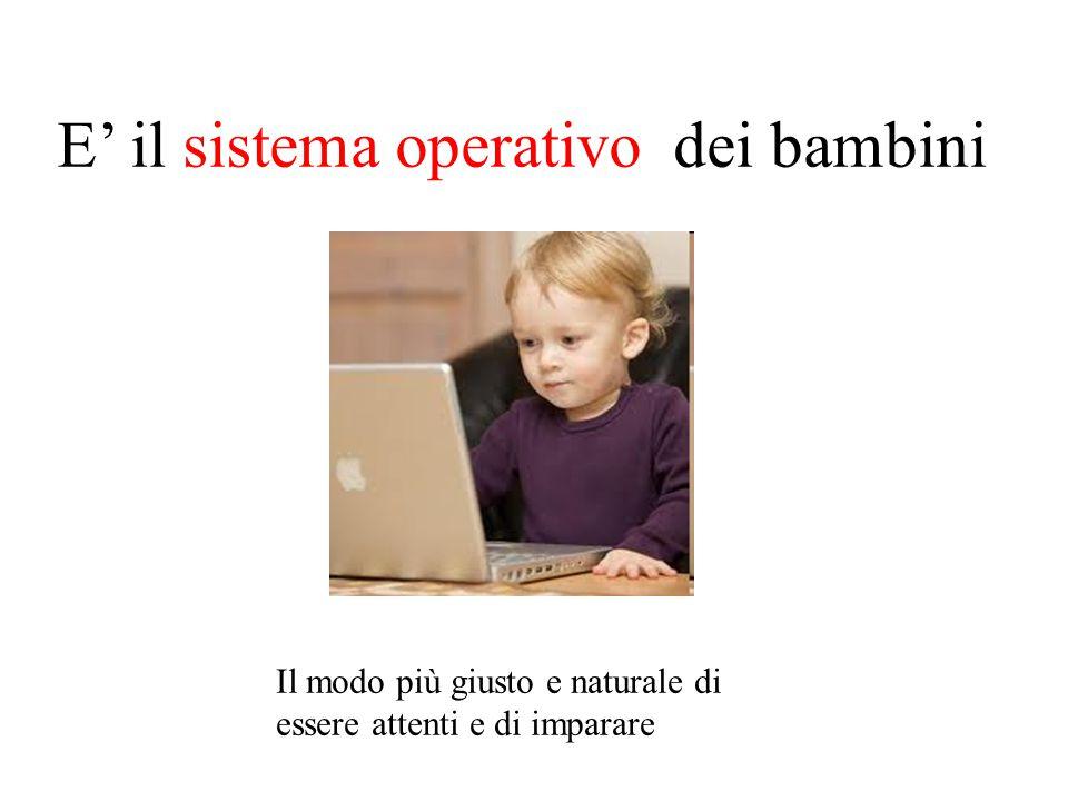 E' il sistema operativo dei bambini