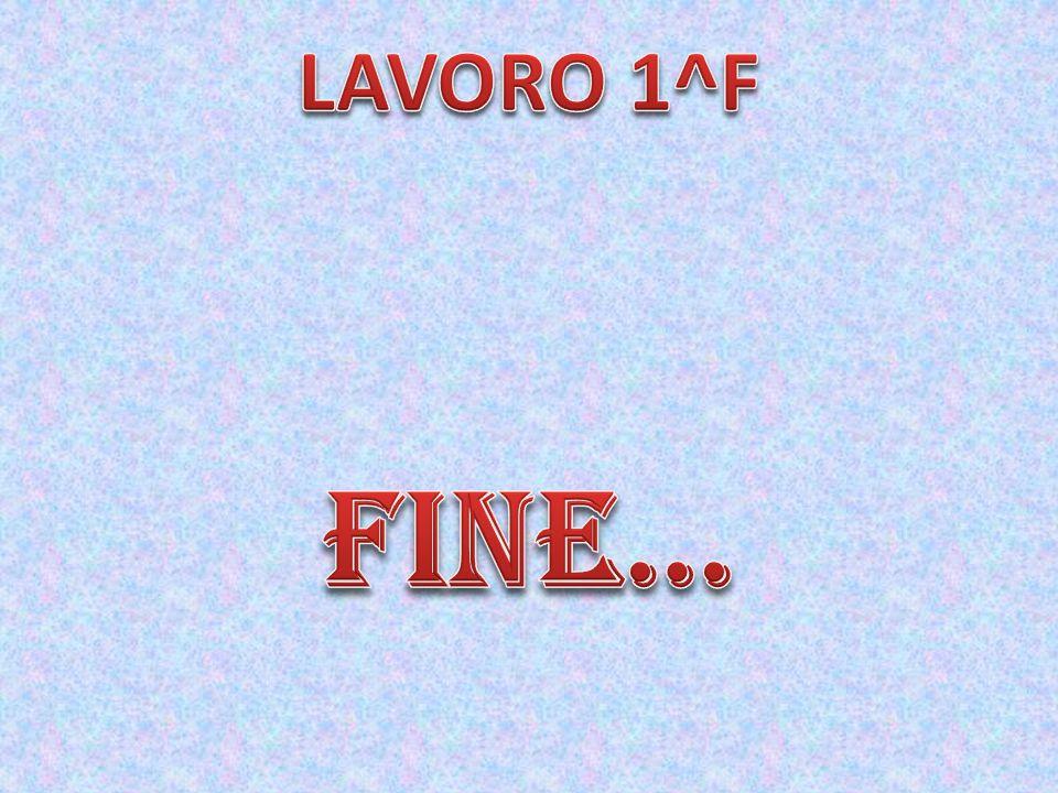 LAVORO 1^F FINE…
