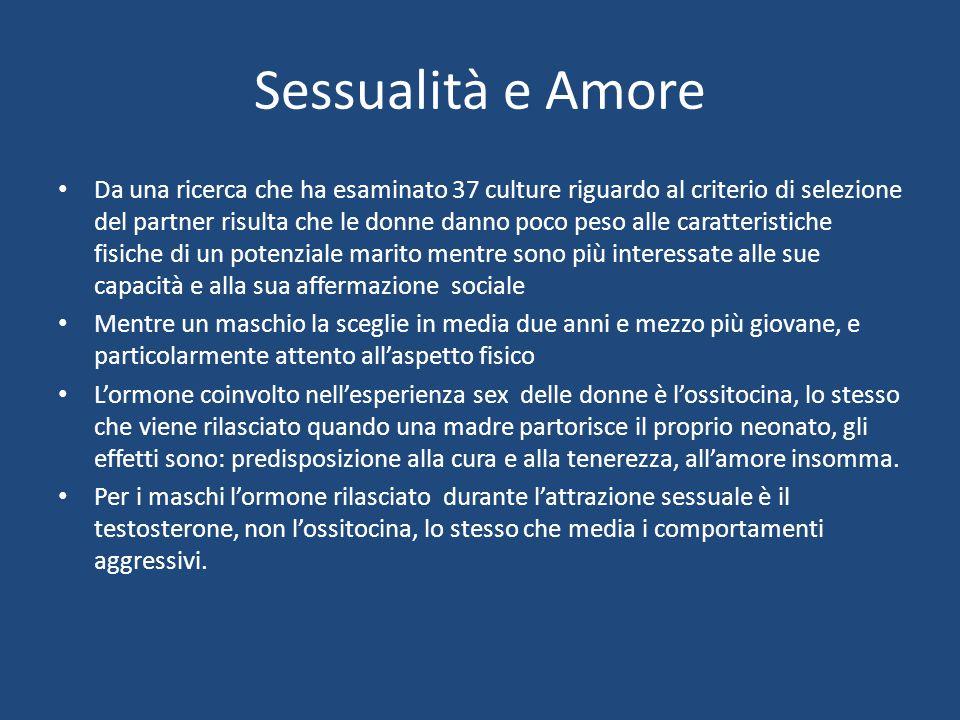 Sessualità e Amore