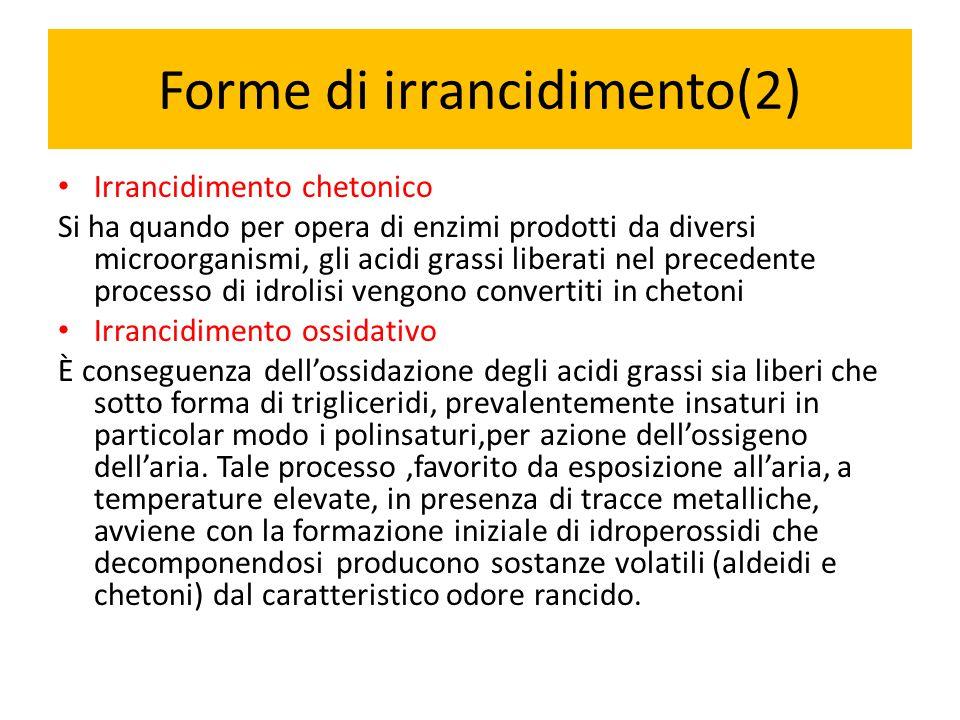 Forme di irrancidimento(2)