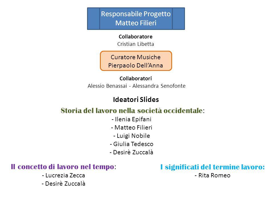 Responsabile Progetto Matteo Filieri