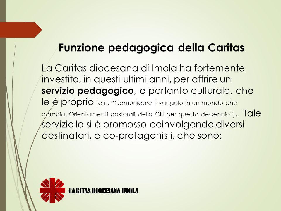 Funzione pedagogica della Caritas