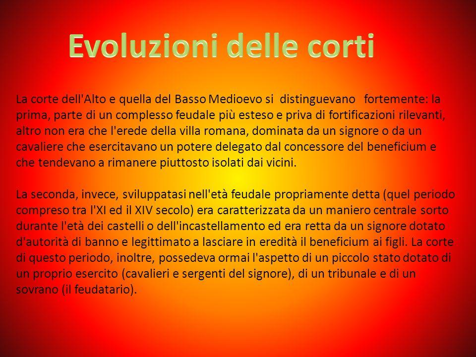 Evoluzioni delle corti
