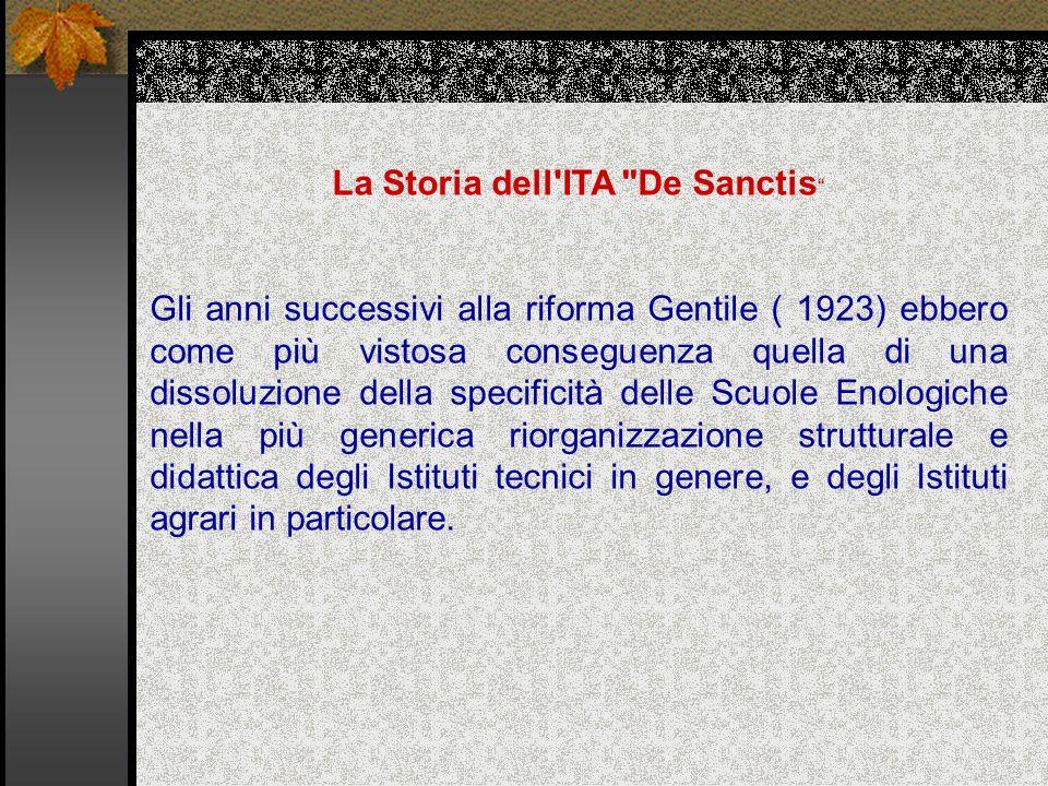La Storia dell ITA De Sanctis