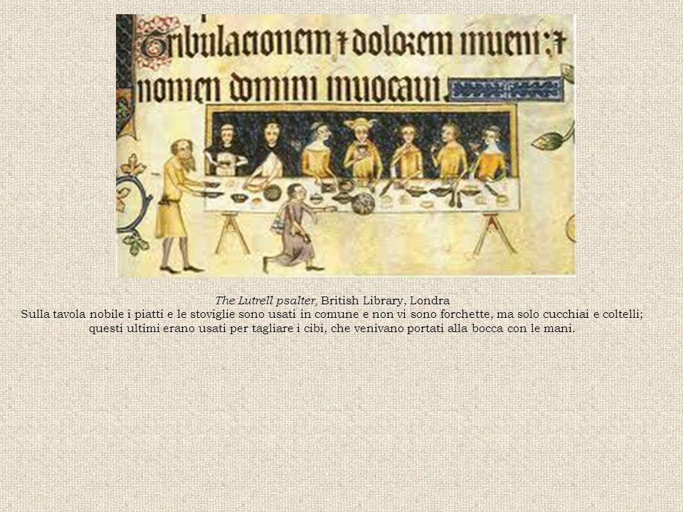 The Lutrell psalter, British Library, Londra