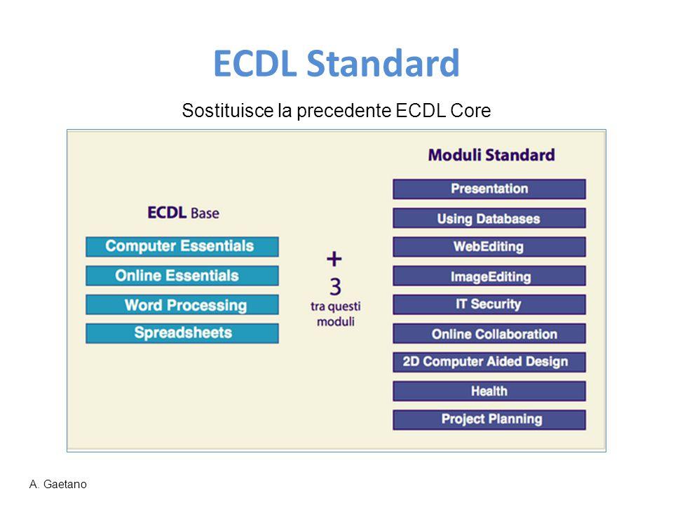 Sostituisce la precedente ECDL Core