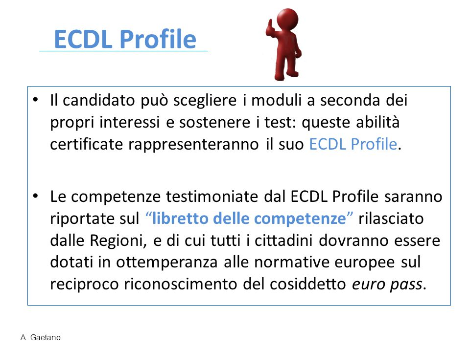 ECDL Profile