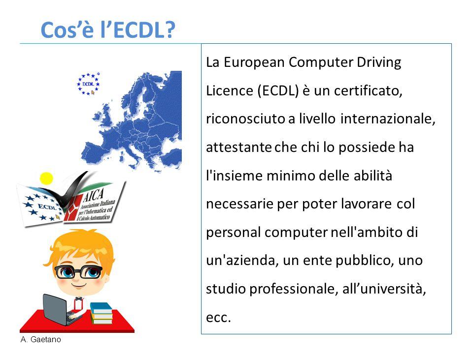 Cos'è l'ECDL