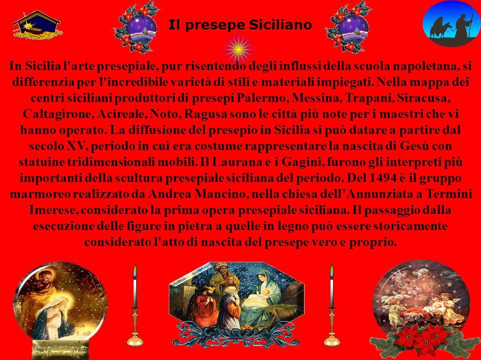 Il presepe Siciliano
