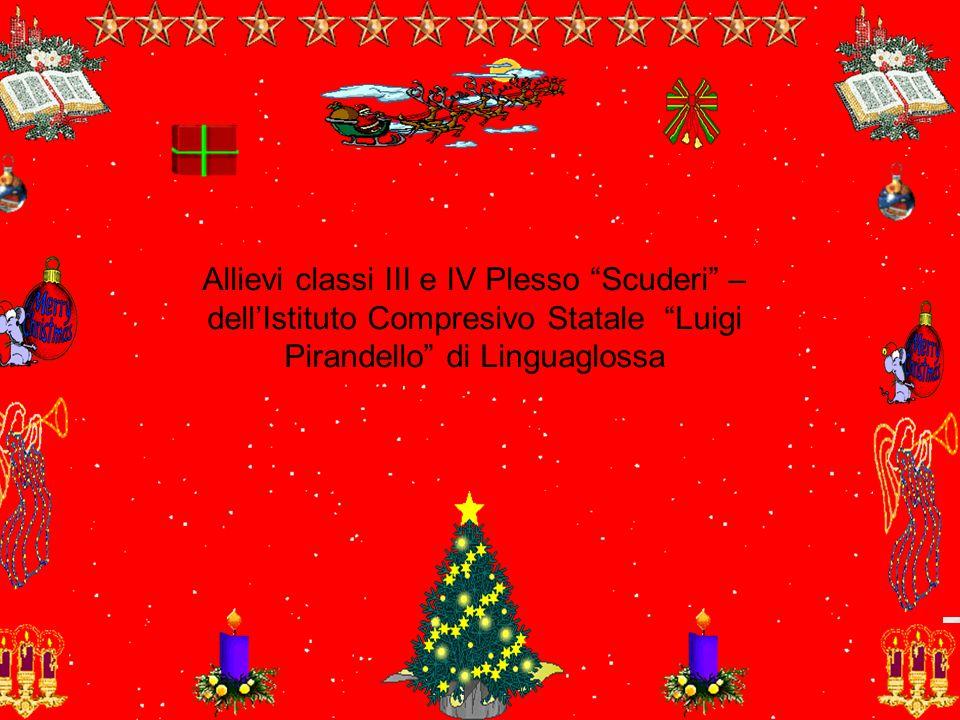 Allievi classi III e IV Plesso Scuderi –dell'Istituto Compresivo Statale Luigi Pirandello di Linguaglossa