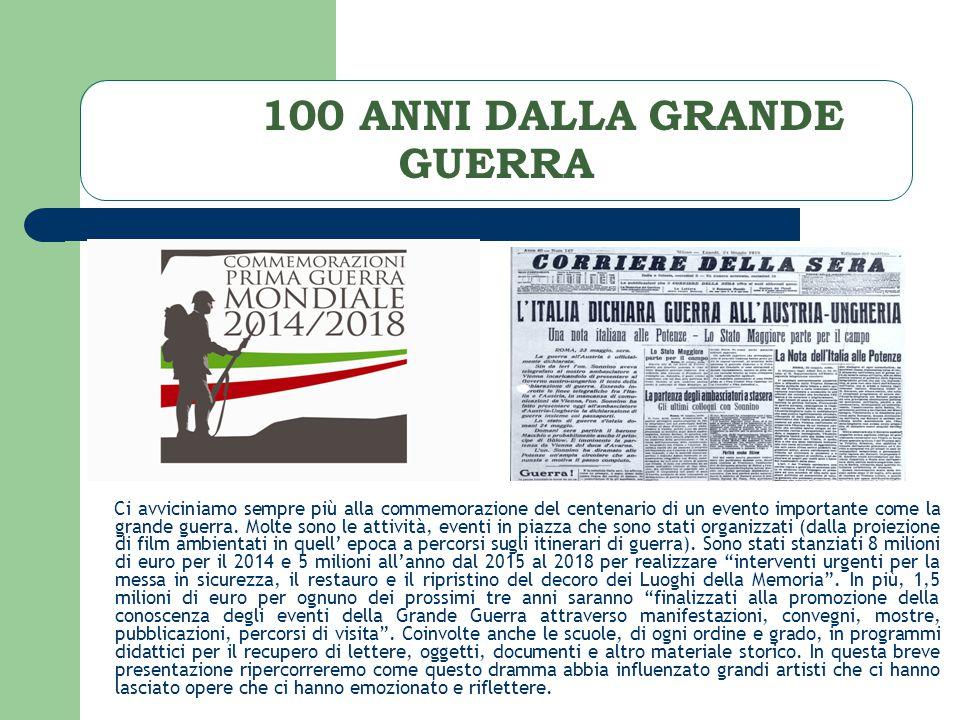 100 ANNI DALLA GRANDE GUERRA