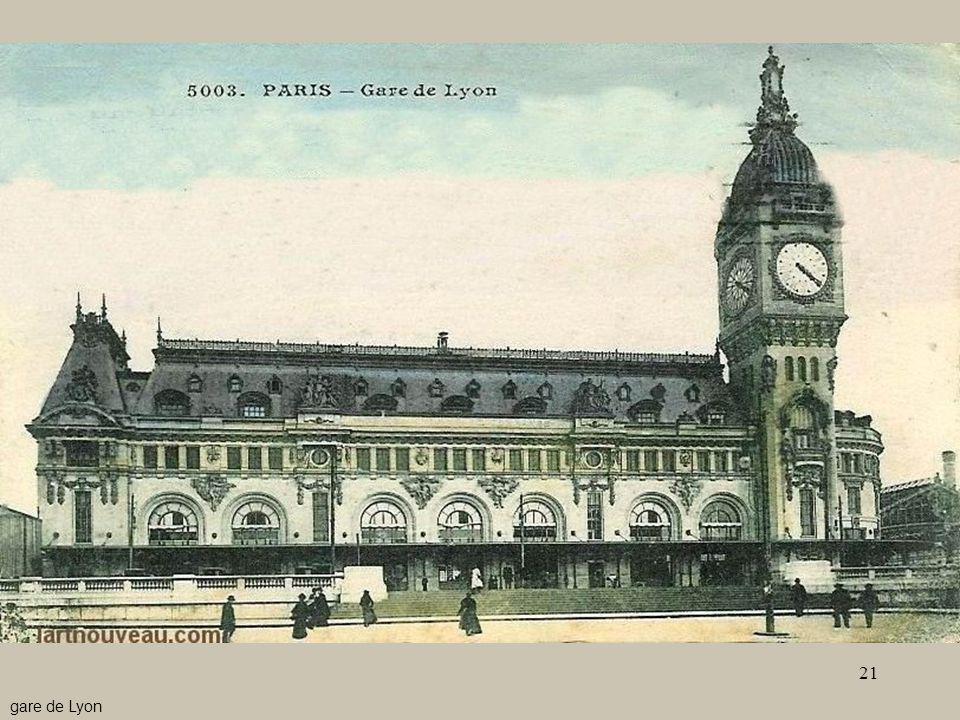 - Le stazioni4 gare de Lyon