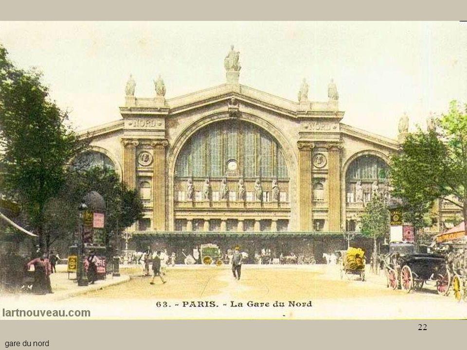 - Le stazioni6 gare du nord