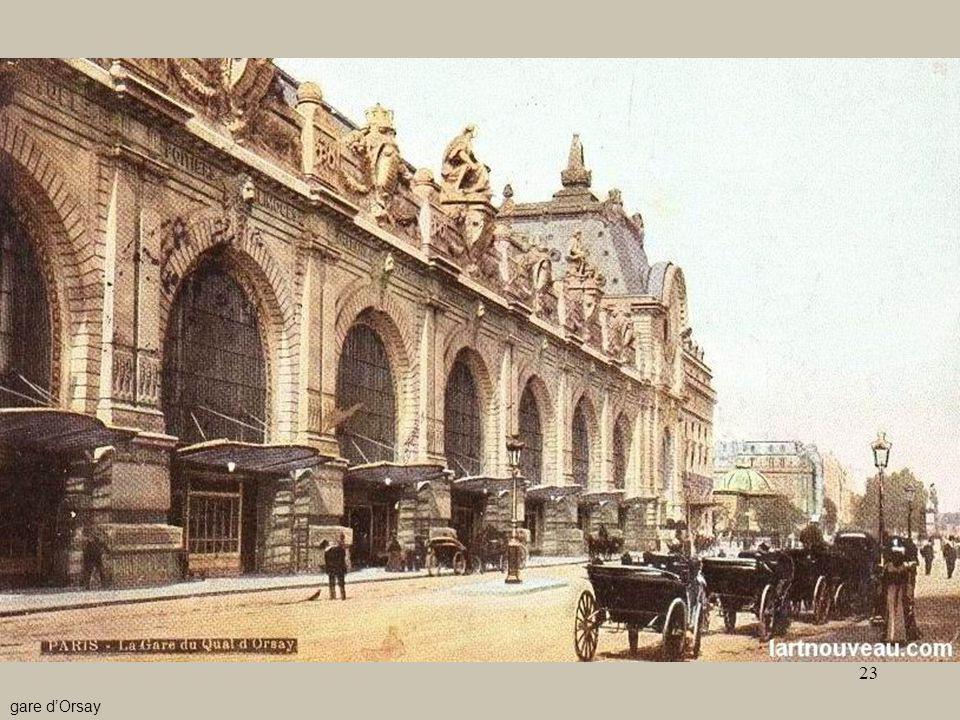 - Le stazioni5 gare d'Orsay