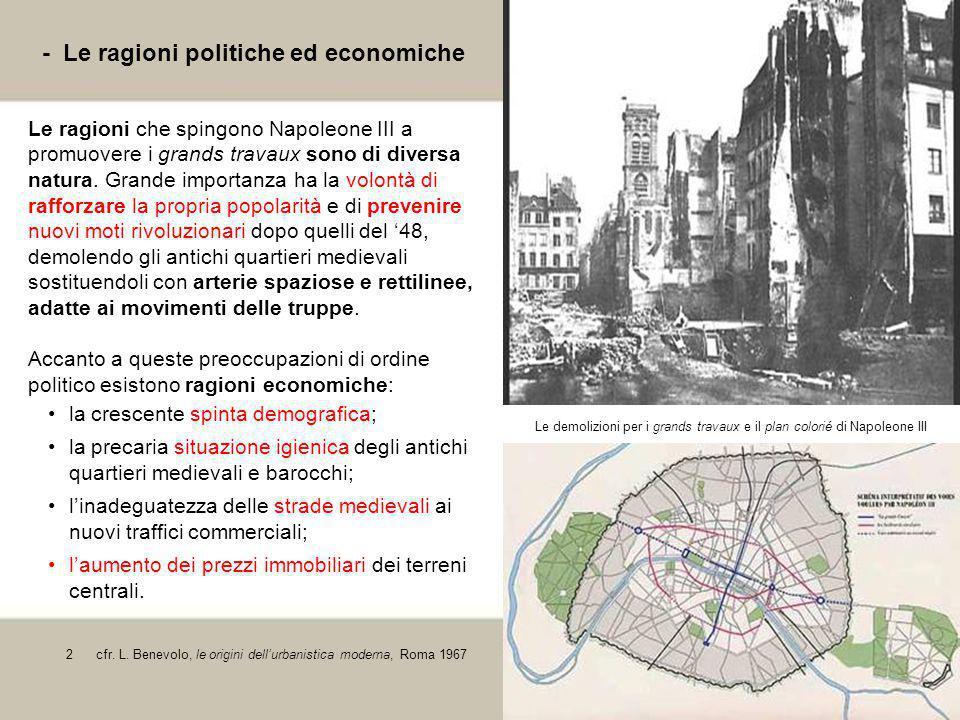 - Le ragioni politiche ed economiche