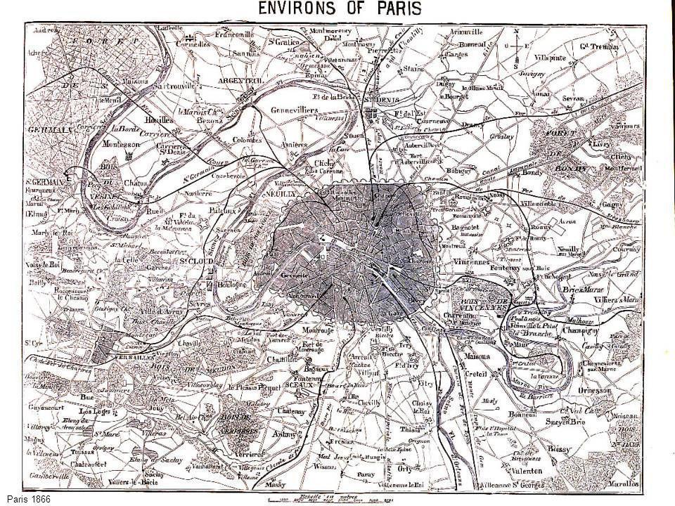 - Carta parigi 1866 Paris 1866