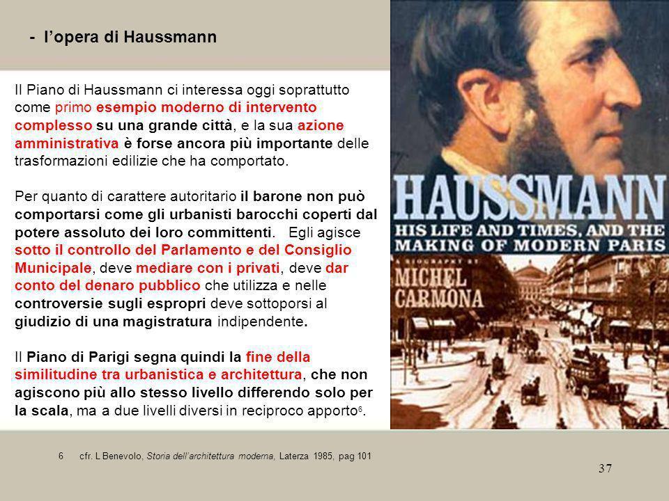 - l'opera di Haussmann