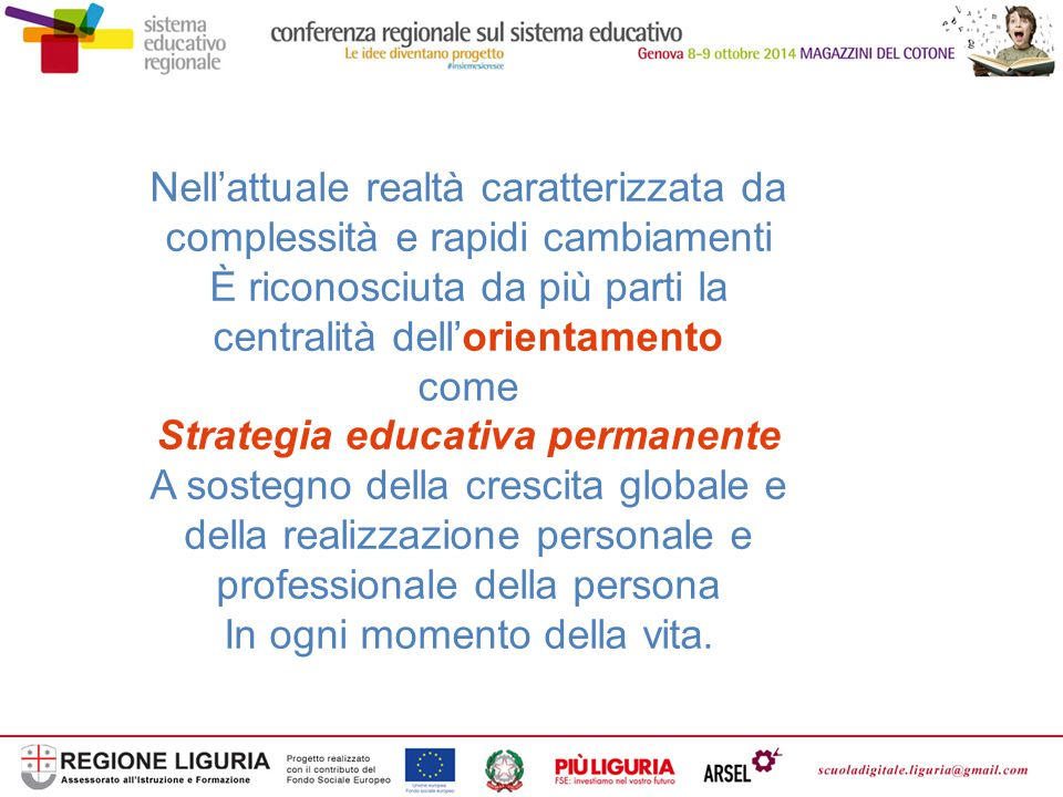 Strategia educativa permanente