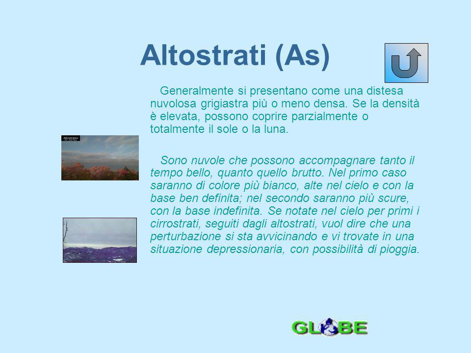 Altostrati (As)