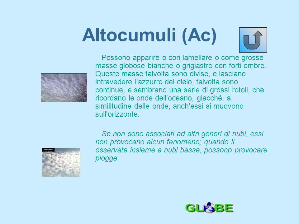 Altocumuli (Ac)