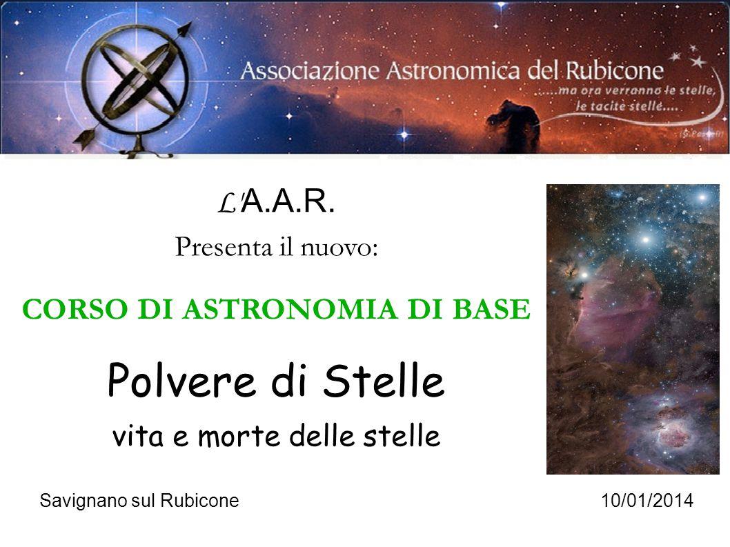 CORSO DI ASTRONOMIA DI BASE