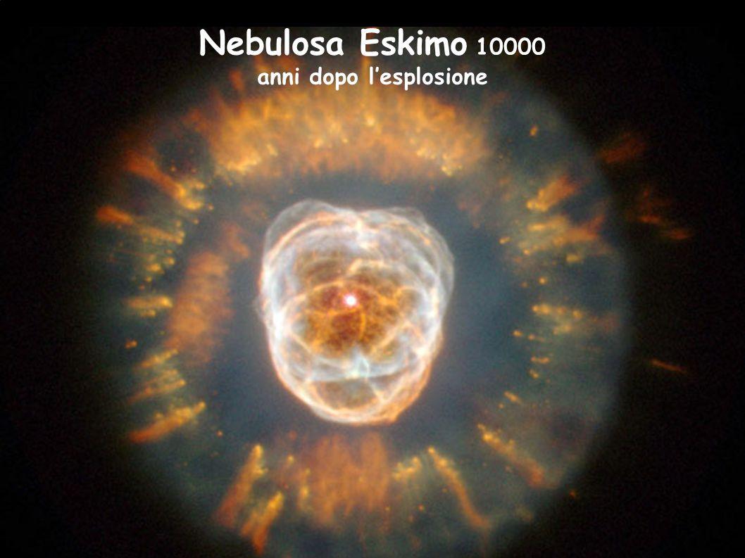 Nebulosa Eskimo 10000 anni dopo l'esplosione