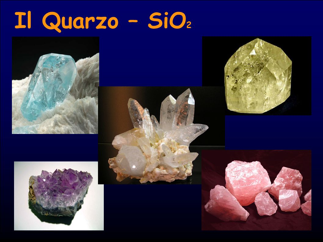 Il Quarzo – SiO2